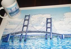 Mac Bridge Giclee print